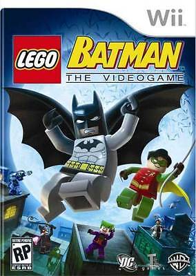 Lego Batman  The Videogame Wii Game