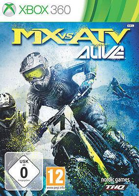 Microsoft XBOX 360 Spiel ***** MX vs. ATV Alive *************************NEU*NEW ()