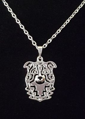 """Border Collie Dog Cute necklace 18"""""""