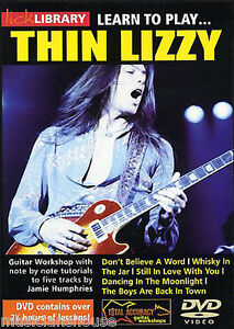 LICK LIBRARY Learn to Play THIN LIZZY Lesson SCOTT GORHAM GARY MOORE Guitar DVD