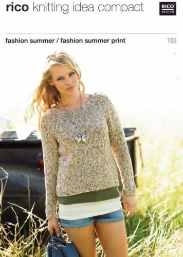 Rico Knitting Patterns Ebay