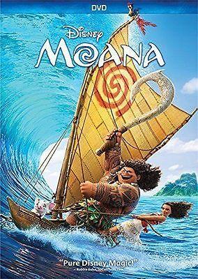 Brand New  Moana  Dvd 2016  Comedy  Family  Animation