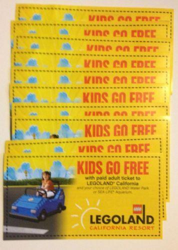 Free Kids Go with Paid Adult Ticket for Legoland California Resort Start making purchases using this coupon code and enjoy huge savings. Pick a real bargain before it is gone forever.