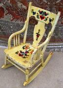 Antique Childs Rocking Chair