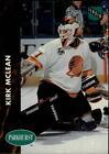 Kirk McLean Pro Set Hockey Trading Cards