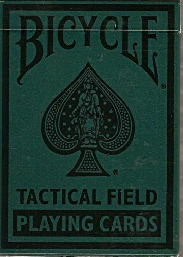 Tactical Field Deck Bicycle Playing Cards Poker Size USPCC N