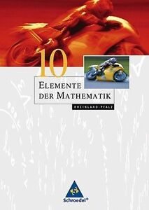 """""""Elemente der MATHEMATIK 10"""" Rheinland-Pfalz. Schroedel 87170-0."""