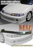 Integra JDM Front Bumper