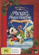 Mickeys Magical Christmas DVD