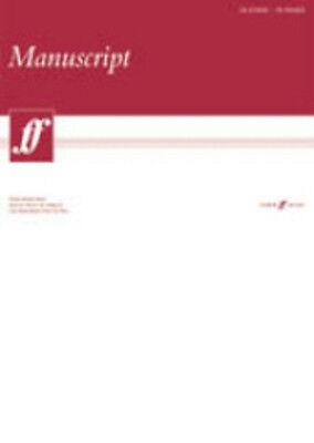 Manuscript A3 18-stave 75pp (White Pad) Faber Music