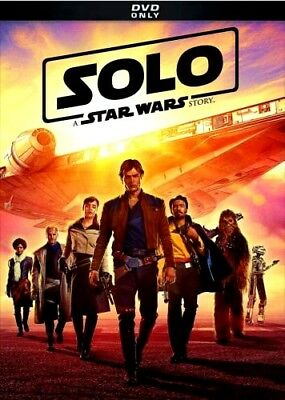 Solo: A Star Wars Story (2018,DVD) NEW * Action * PRE-ORDER SHIPS ON 09/25/18
