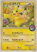 Japanese Pikachu Card