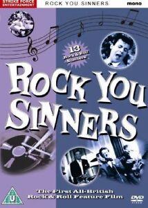 ROCK YOU SINNERS DVD,ROCK N ROLL/ROCKABILLY 1950S/60S FILMS ,MUSIC