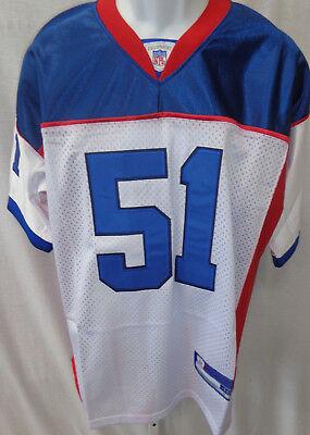 Buffalo Bills NFL Posluszny Replica Sewn Football Jersey White #51 Irregular*