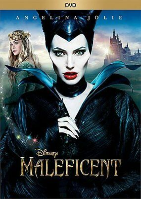 Maleficent  Dvd  Used