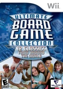 12 Wii GAMES ULTIMATE BOARD GAME COLLECTION NEW **NEW**