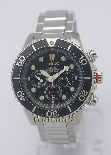 Seiko mens divers solar watches ebay - Seiko dive watch history ...