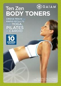 Yoga, Pilates and Cardio DVD - TEN ZEN BODY TONERS - 10 Workouts!