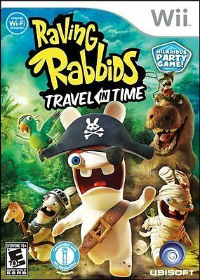 Raving Rabbids Travel In Time Wii Sealed