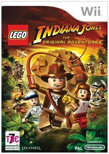 NEW & FACTORY SEALED LEGO Indiana Jones The Original Adventures Nintendo Wii