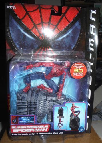 Spiderman Super Poseable: Comic Book Heroes | eBay