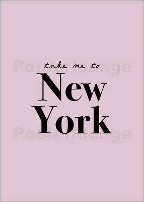 Poster Take Me To New York - Nimm mich mit nach New York - Finlay and Noa
