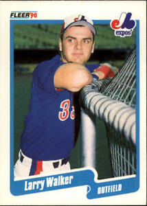Larry Walker Rookie Card