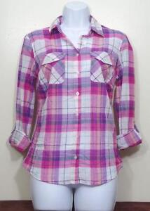 Womens Plaid Shirt | eBay