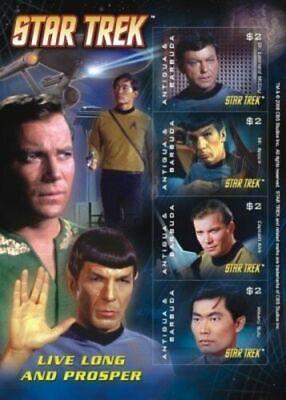 Star Trek - Antigua  2008 - Sheetlet - MNH