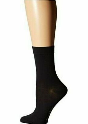 New Falke Womens Cotton Touch Socks - Black US 5 - 7.5 ( 35 - 38 )