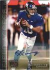 Eli Manning Autograph Football Cards