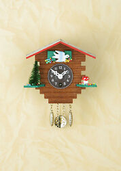 Pendulum clock Wooden house Black Forest Cuckoo Made in Germany 32 PQ