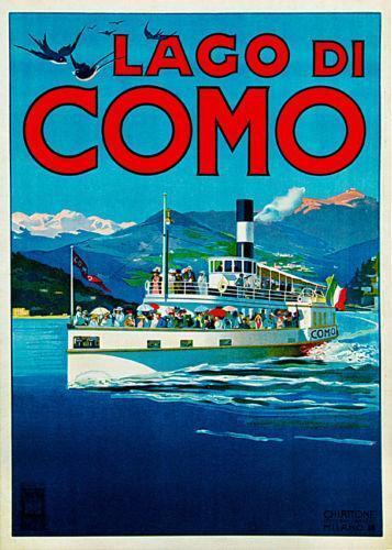 Lake Como Art Ebay