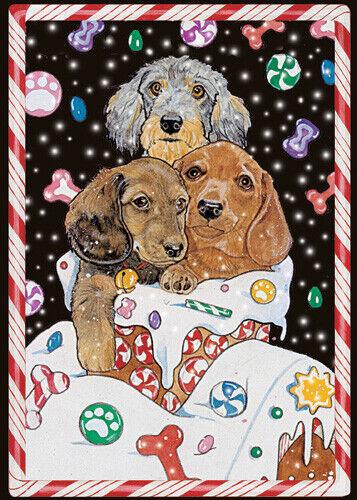 Dachshund Christmas Cards Set of 10 cards & 10 envelopes