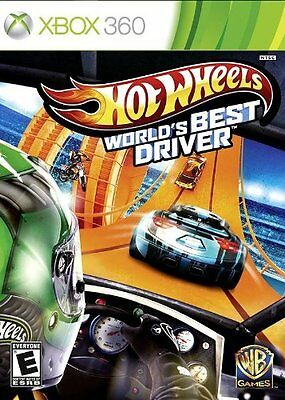 Hot Wheels World's Best Driver - Xbox 360 Standard Edition Great Game for