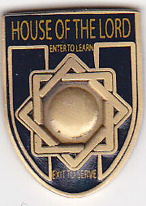 Details about MELCHIZEDEK PRIESTHOOD Temple SYMBOL Lapel Pin LDSMelchizedek Priesthood Symbol
