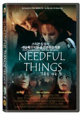 [DVD] Needful Things (1993) Max von Sydow *NEW