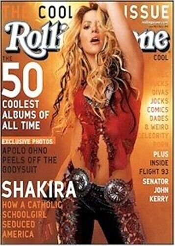 SHAKIRA ~ SEDUCED AMERICA ~ 22x27 MUSIC POSTER ~ Pinup RS ~ NEW/ROLLED!
