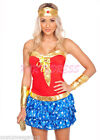 Polyester Superwoman Dress Costumes for Women