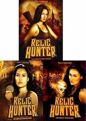 New   Relic Hunter  The Complete Series  Seasons 1 3 Bundle