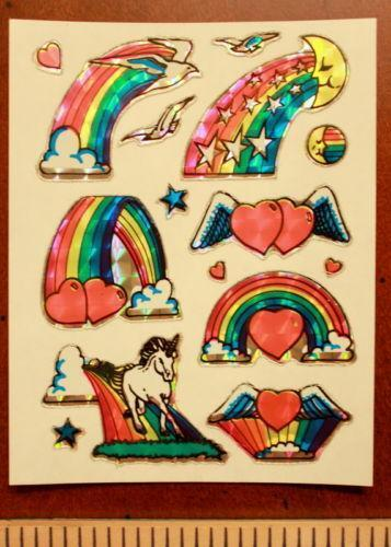 80s sticker collection ebay. Black Bedroom Furniture Sets. Home Design Ideas