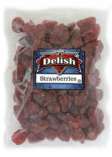 Dried Sweetened Strawberries by Its Delish, 2 lbs