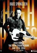 Bruce Springsteen Signed