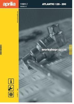 Aprilia Atlantic 125-200 Service Repair Workshop Manual (0076)