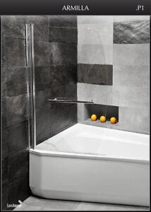 duschabtrennung f r badewannen g nstig online kaufen bei ebay. Black Bedroom Furniture Sets. Home Design Ideas