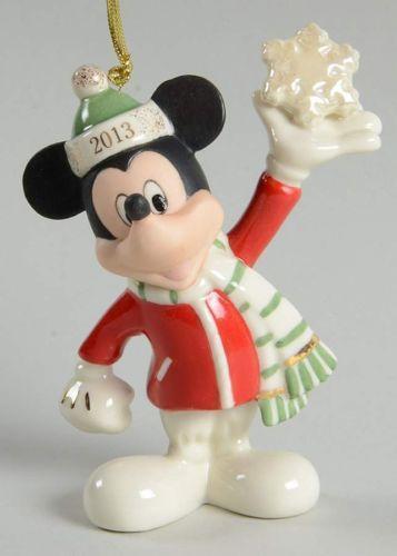 - Lenox Mickey Mouse Ornament EBay