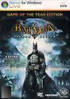 Batman: Arkham Asylum Video Games