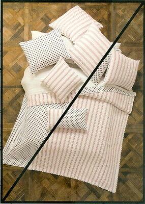 KENSIE HOME Royal Size Reversible Quilt Set 2 King Shams Shell Design NEW