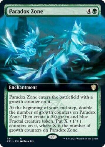 Mtg *paradox Zone Extended Art X1* (nm) Stx Magic Free Shipping