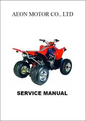 Aeon Cobra 200 4 Stroke ATV Service Repair Workshop Manual (0069)